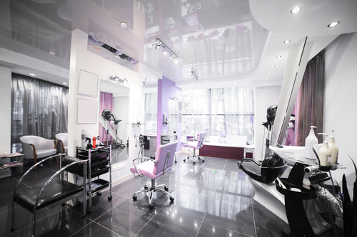 Beauty salons are a lucrative business