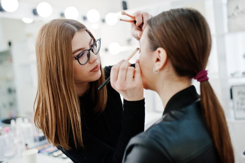 A professional makeup artist is highly trained to do the job well.