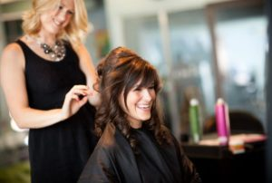 A blowout bar stylist can do simple updos and braids.
